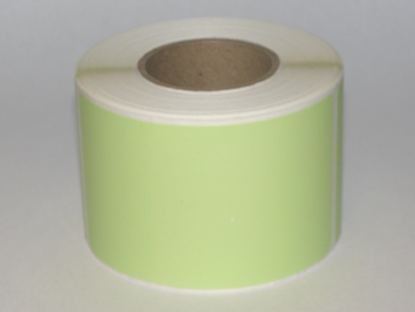 "Thermal Visitor Labels 2 1/4"" x 4"" Green"